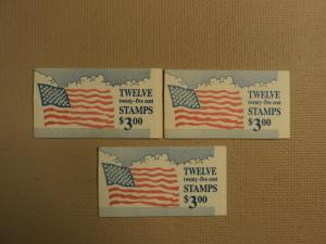 USPS Scott 2285Ac 25c 3 Books Flag Clouds 36 Stamps Mint ...