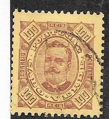 Cape Verde #32  100R   brown buff  (U)  CV $5.25