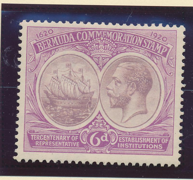 Bermuda Stamp Scott #69, Mint Hinged