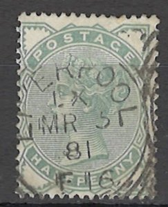 COLLECTION LOT OF # 1634 GREAT BRITAIN # 78 1880