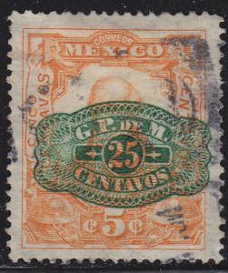 Mexico 580 Hinged Used 1916 Miguel Hidalgo O/P