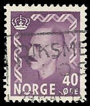 Norway - 347 - Used - SCV-0.25