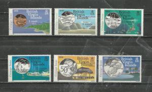British Virgin Islands # 484-489