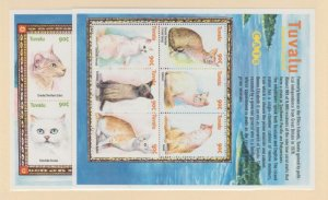 Tuvalu Scott #839-840 Stamps - Mint NH Souvenir Sheet Set