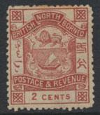 North Borneo  SG 38  MH   please see scans & details