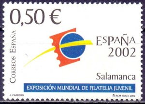 Spain. 2002. 3722. Philatelic exhibition. MNH.