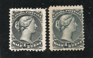Canada - Unitrade# 21 Mint no gum /  -   Lot 0519010