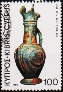 Cyprus. 1980 100m S.G.551 Fine Used