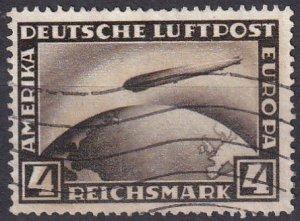 Germany #C37 F-VF Used   CV $35.00  (Z4533)