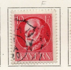 Bayern Bavaria 1914-18 Early Issue Fine Used 10pf. NW-120711