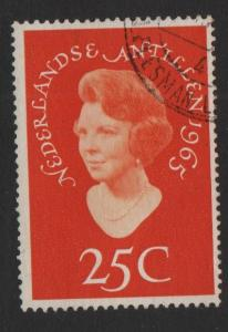 Netherlands Antilles 1966 used Princess Beatrix complete