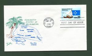 Sc. 2506 Micronesia FDC - Faith Cachets
