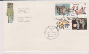 CANADA FDC FROM CANADA POST OFFICE STAMPS #843-846 LOT#M150