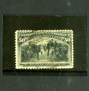 US Stamps # 240 VF Intense color light cancel