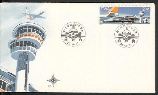 Namibia - 1977 J G Strijdom Airport (FDC)