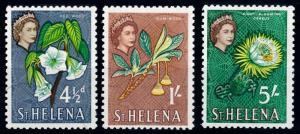 [67063] St. Helena 1961 Flora Flowers Blumen From Set MNH