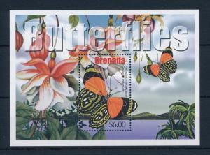 [31944] Grenada 2002 Butterflies Schmetterlingen Papillons  MNH Sheet