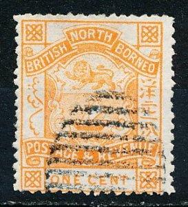 North Borneo #36 Single Used