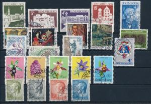 [57881] Luxembourg 1975 Complete Year Set Used