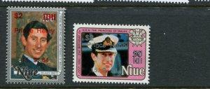 Niue #455-6 MNH