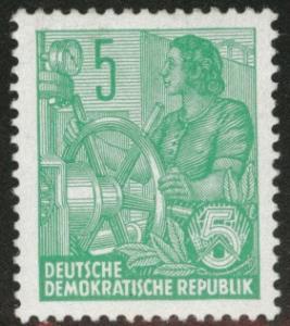 German DDR  Scott 156 MH* CV $1.40 1953