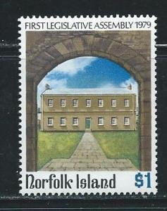 Norfolk Island 249 1979 Legislature single MNH