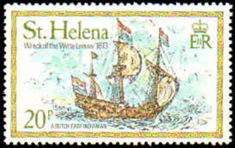 ST HELENA #318-323 MINT NEVER HINGED COMPLETE SET ( 6 )