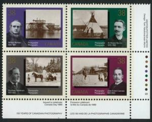 Canada 1240a BR Plate Block MNH Photography, Horse, Cycle