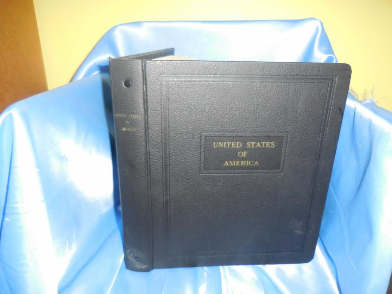 Topical Kennedy pages in binder