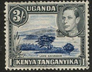 Kenya-Uganda-Tanganiyka, Scott #56, Used