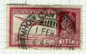 INDIA; POSTMARK fine used cancel on GVI issue, Mhow Cant.