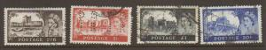 Great Britain #371-4 Used