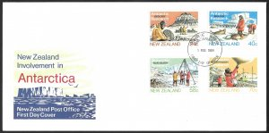 New Zealand First Day Cover [7801]