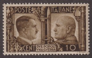 Italy 413 Adolf Hitler and Benito Mussolini 1941