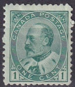 Canada #89 F-VF Unused  CV $45.00  (A19923)