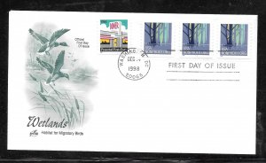 Just Fun Covers #3207A FDC Artcraft Cachet PNC/3 PL #1111 (my4483)