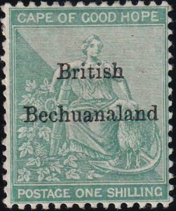 Bechuanaland 1886 SC 9 Mint