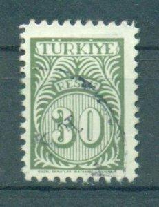 Turkey sc# O47 used cat value $.25