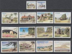 Nevis 121-134 MNH VF