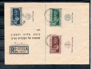 Israel Scott #28-30 New Year Full Tab Set on Bank Cover!!