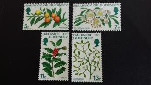 Guernsey 1978 Christmas Stamps Mint