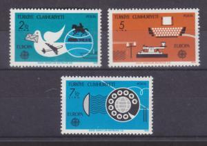 Turkey Sc 2109-2111 MNH. 1979 EUROPA cplt, VF