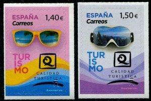 HERRICKSTAMP NEW ISSUES SPAIN Tourism 2019 Self-Adhesive