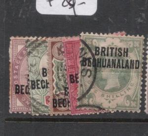 Bechuanaland SG 33-7 VFU (5dlc)