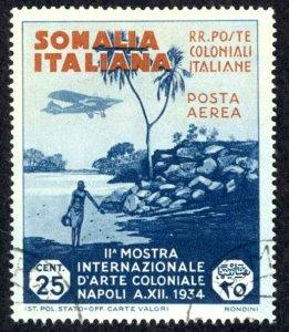 Somalia Sc# C1 Used 1934 25c Air Post