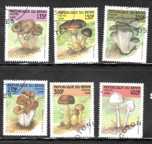 Benin 1998 SC# 1055-1060