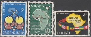 Ghana #92-4  MNH F-VF (SU3516)