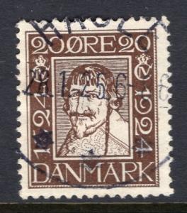 Denmark 173 Used VF
