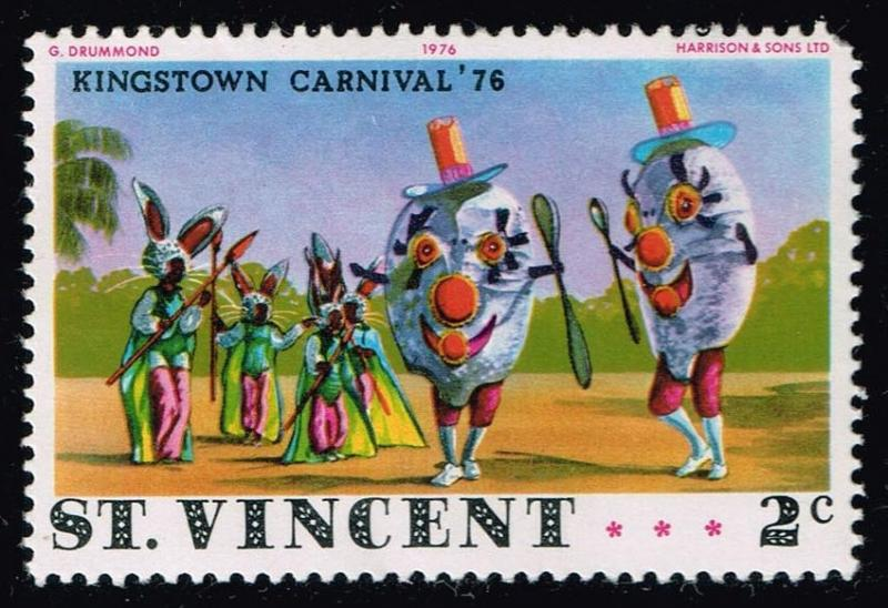 St. Vincent #458 Carnival Costume; MNH Faulty (0.25)