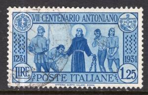Italy 262 Used VF